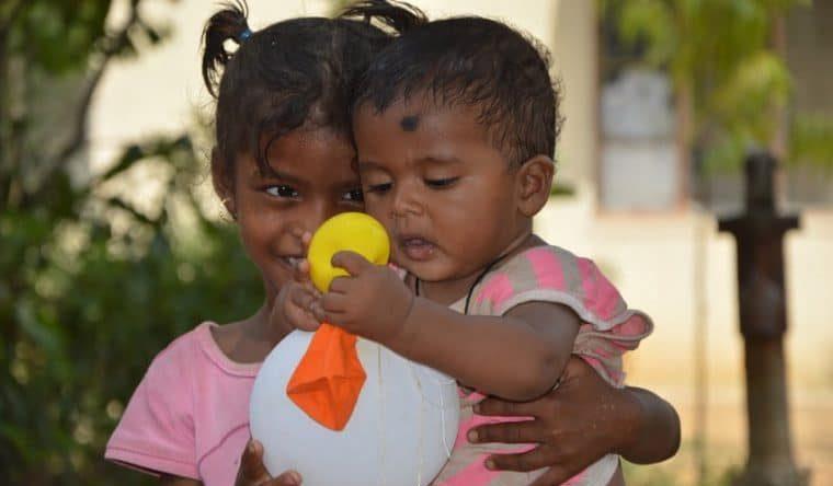 Parrainez un enfant en Inde