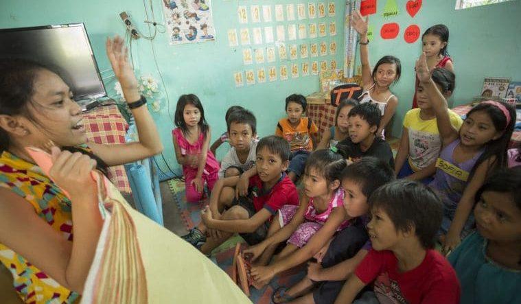 Parrainez un enfant aux Philippines