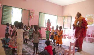 Une maternelle pour les tout-petits au Sénégal