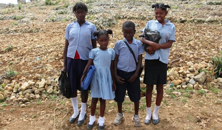 Nos actions humanitaires en Haïti