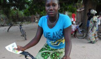 Un vélo pour prendre la route de lecole