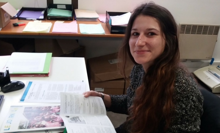 Lucille, 22 ans bénévole