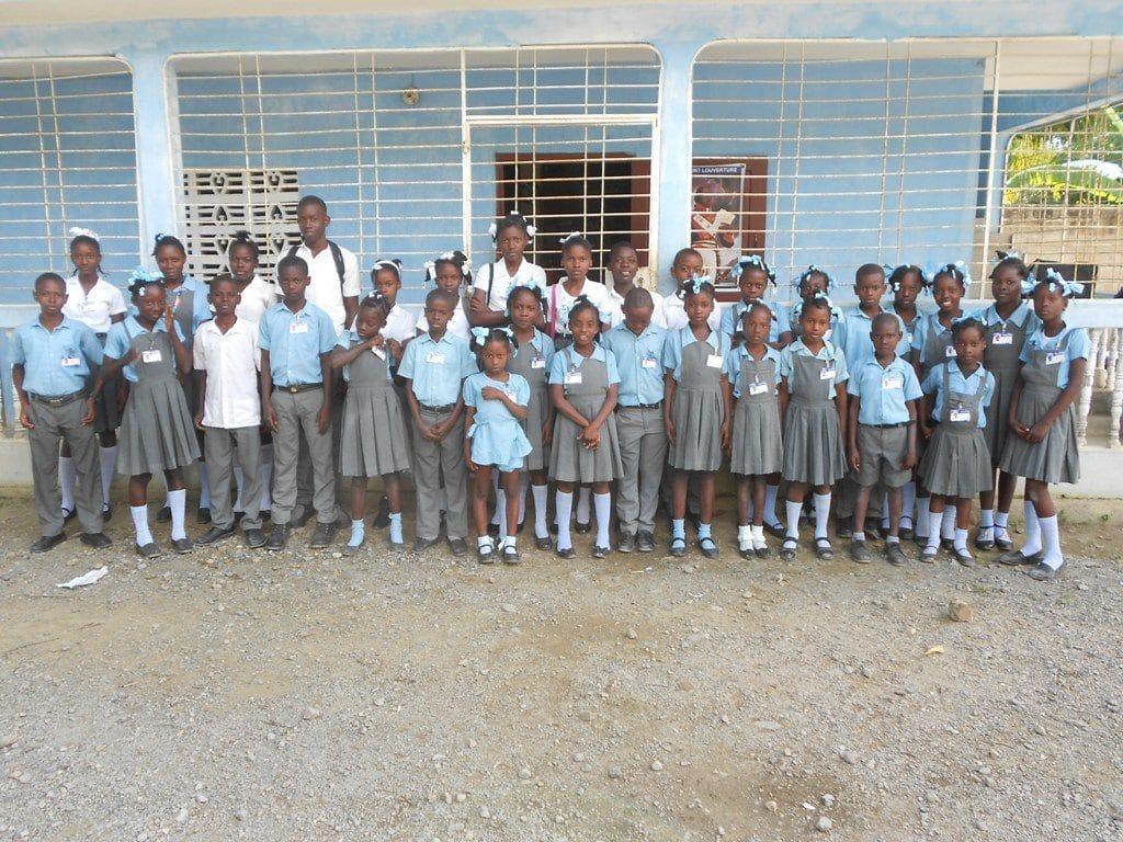 ecoliers ecolebonger haiti