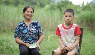 Trong, maman vietnamienne