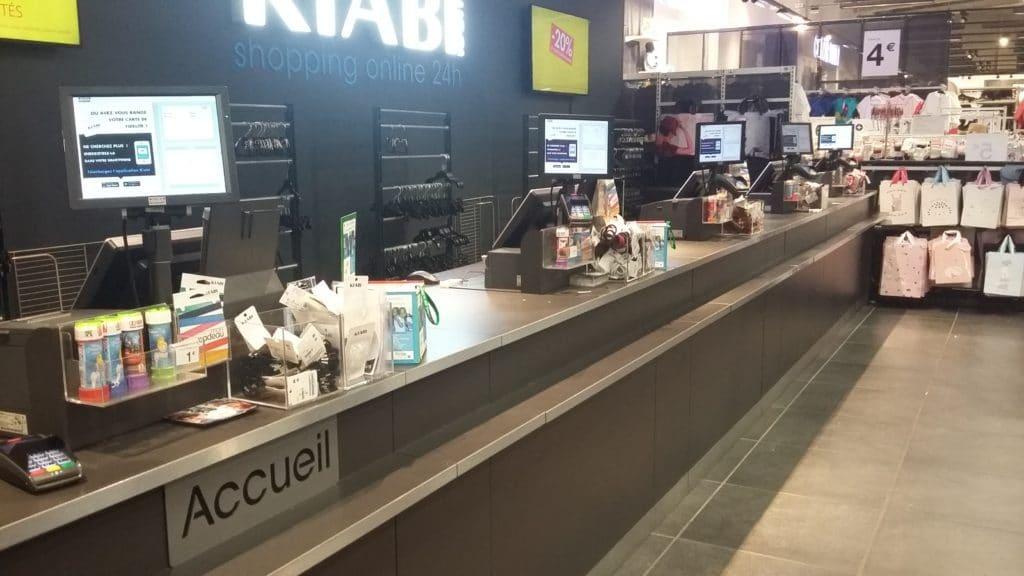 Des micro-dons aux caisses de Kiabi à Nantes