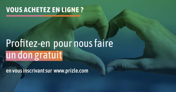 Prizle, une plateforme de shopping solidaire