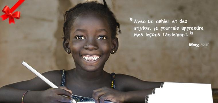 kit scolaire haiti cadeau solidaire