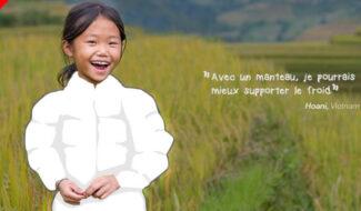 Blousons vietnam cadeau solidaire