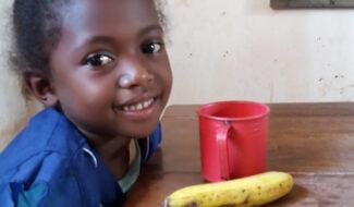 Madagascar : Distribution de repas