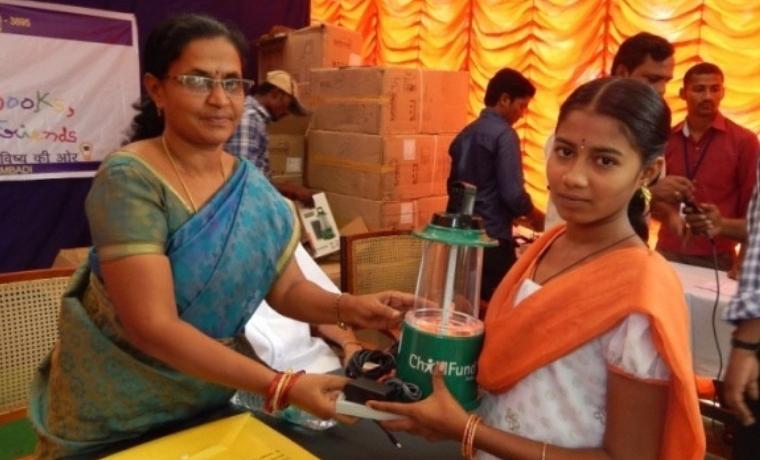 Inde: Electrification de 4 centres dédiés aux enfants et aux familles
