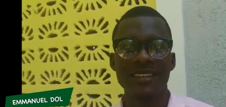 Emmanuel Dol, ancien parrainé devenu proviseur en Haiti