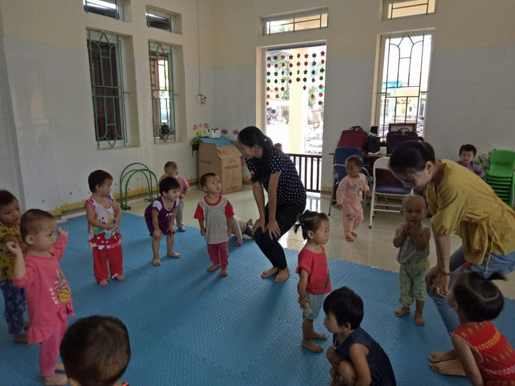 Vietnam: Des toilettes pour l'école maternelle de Quoc Toan