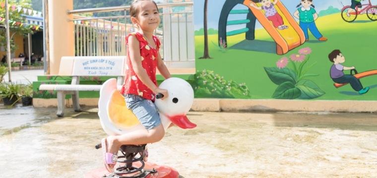 Linh, 5 ans