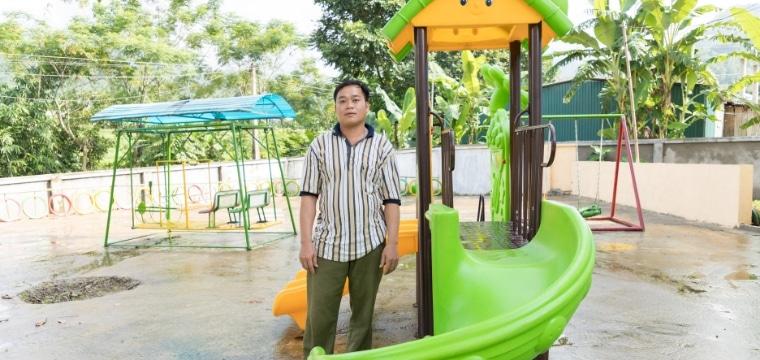 Aires de jeux pour les enfants au Vietnam