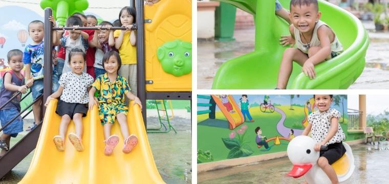 Création d'un environnement scolaire stimulant pour les écoliers de Thuong Tien