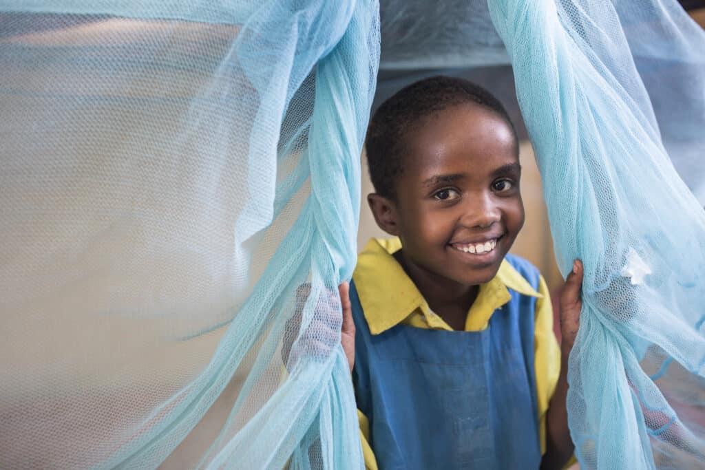une moustiquaire pour se protéger du paludisme