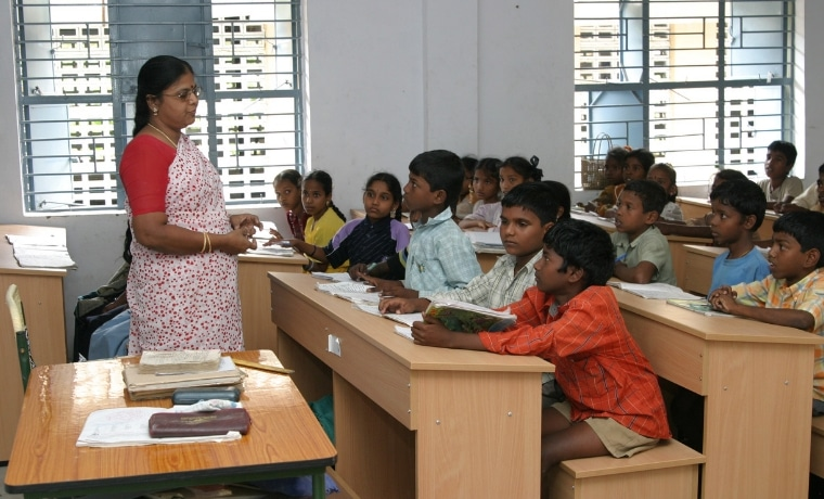 L'éducation des enfants en Inde