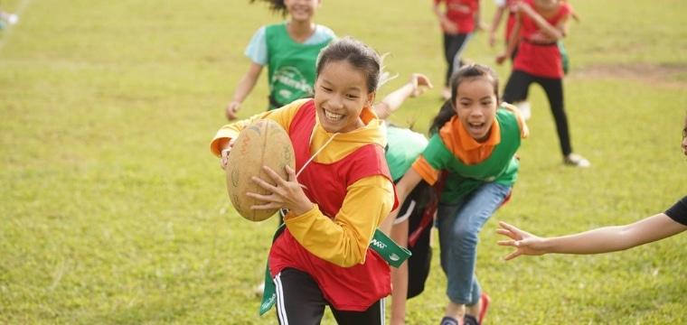 Coupe du monde de Rugby 2019 : un événement inoubliable pour les enfants d'Asie !