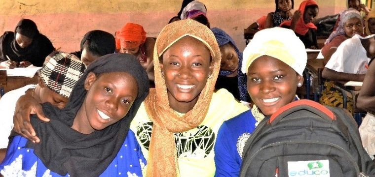 623 collégiennes scolarisées grâce au fonds d'éducation au Mali