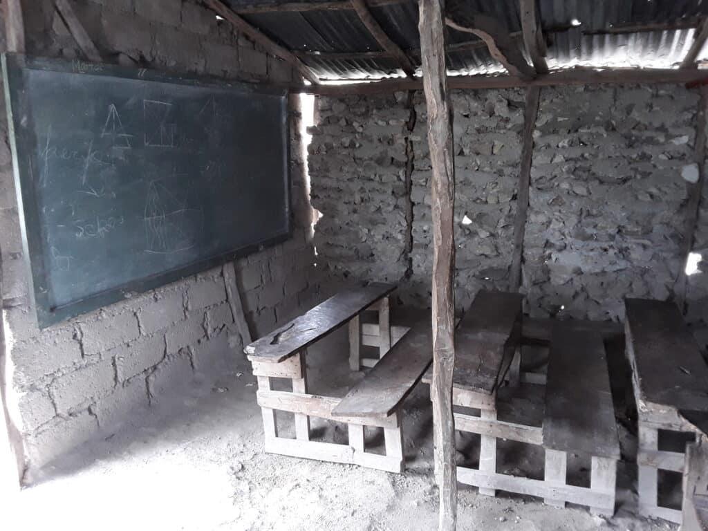 Ecole Notre Dame, avant l'intervention d'UEPLM en 2019