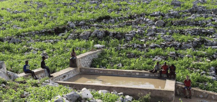 Haïti Améliorer l'accès à l'eau et à l'assainissement des enfants et familles de la Chaîne des Matheux