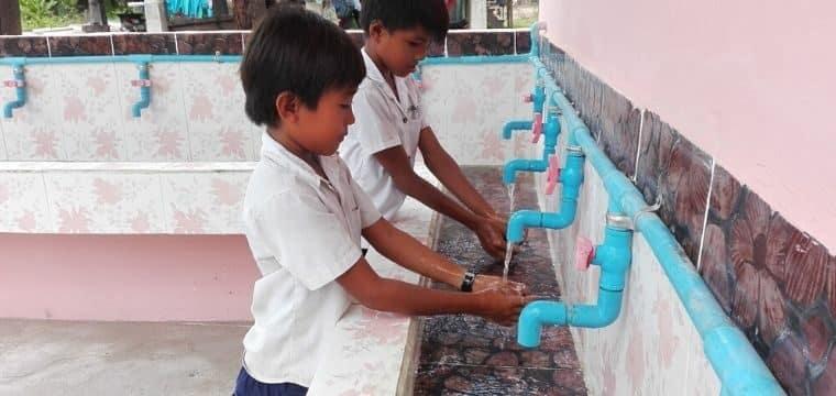 COVID-19 au Cambodge : Développer l'accès à l'eau et améliorer la santé des familles en zones rurales
