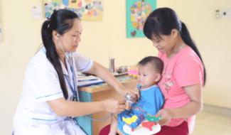 Améliorer la santé et la nutrition des femmes enceintes et des enfants dans les zones montagneuses de Hòa Bình au Vietnam
