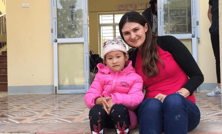 Delphine, 30 ans, parle de son parrainage