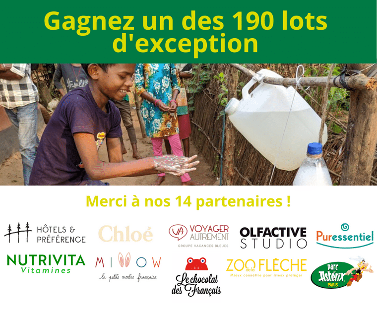 OPÉRATION SOLIDAIRE « TOMBOLA » STOPAUCOVID-19