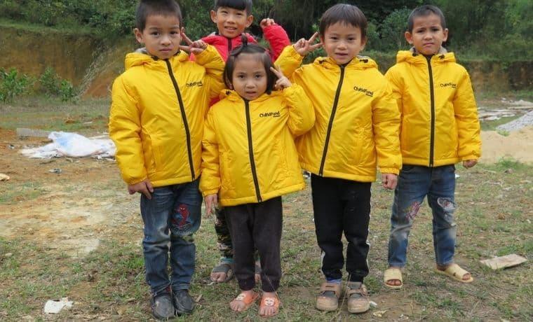 Des bottes pour être protégé du froid au Vietnam