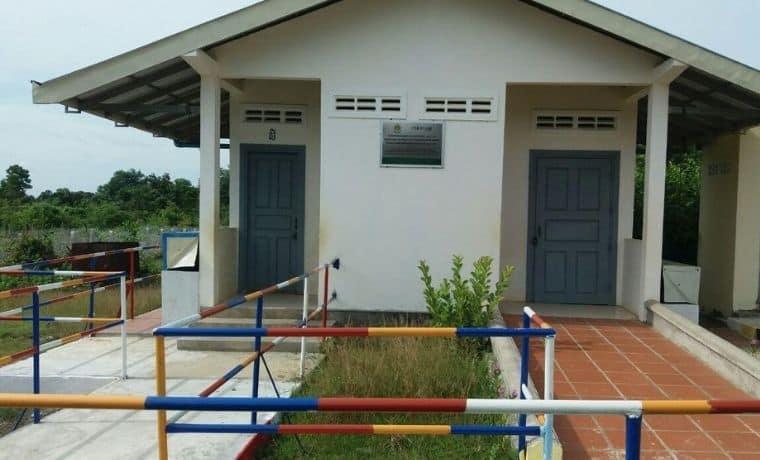 Une station de lavage pour rendre l'eau propre au Cambodge
