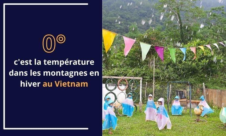 Un imperméable pour rester au sec au Vietnam