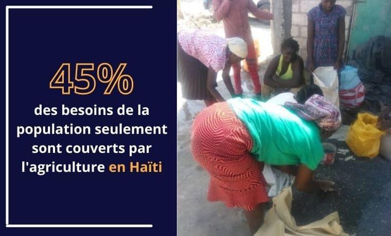 Un kit agricole pour préserver les terres en Haïti